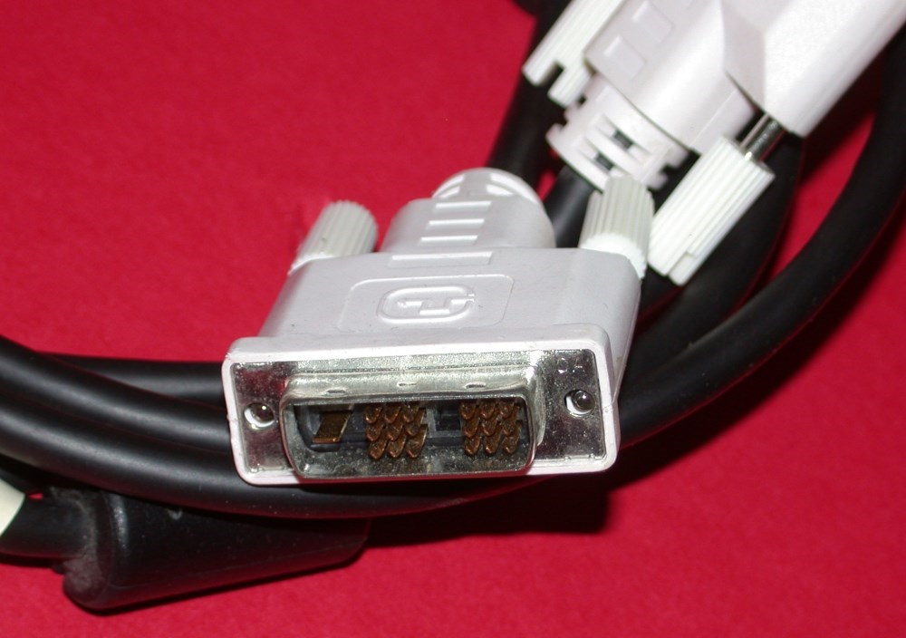 Dvi To Dvi Lcd Monitor Cable 18 Pin Male To 18 Pin Male