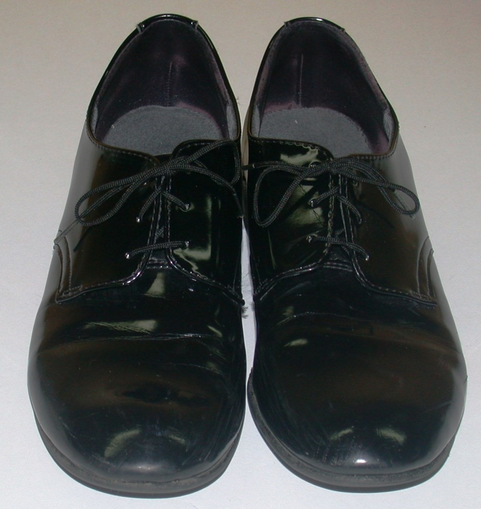 Women S Military Dress Shoes Flats Black Patent Leather